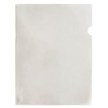 LION FILE A4 L Shape Plastic Clear Folder