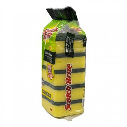 SCOTCH-BRITE Scouring Sponge 5PCS