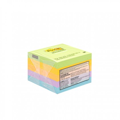 "3M POST-IT Sticky Notes Asst Colours 3.0"" x 3.0"" x 500'S"