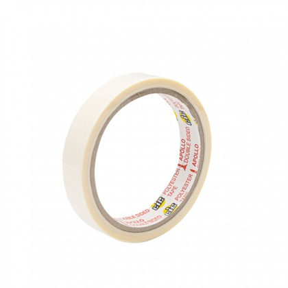 CIC Double Sided Polyester Tape 18MM x 10Y