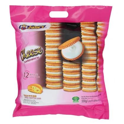 JULIE'S Sandwich Biscuit (Cheese) 330G