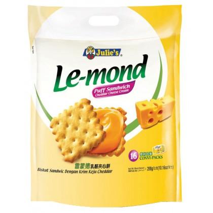 JULIE'S Le-Mond Sandwich Biscuit (C.Cheese) 288G