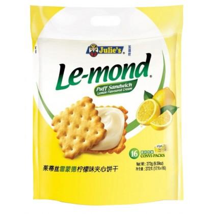 JULIE'S Le-Mond Sandwich Biscuit (Lemon) 272G
