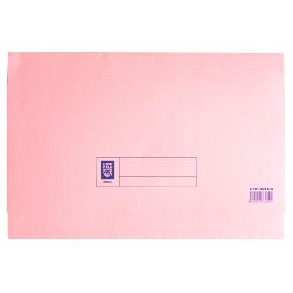 LION FILE Pocket File Pink
