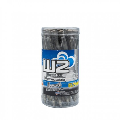 G'SOFT 0.7mm Ball Pen W2 Black
